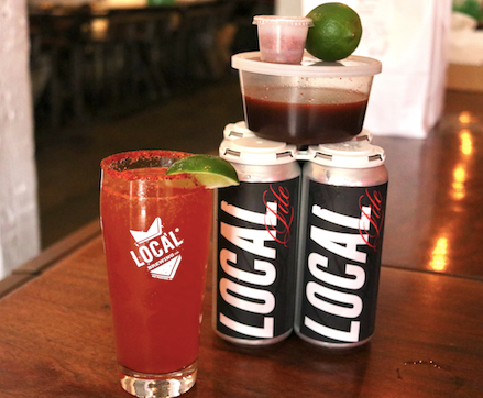 Local Michelada Kit w/ Local Lite Lager 4Pack