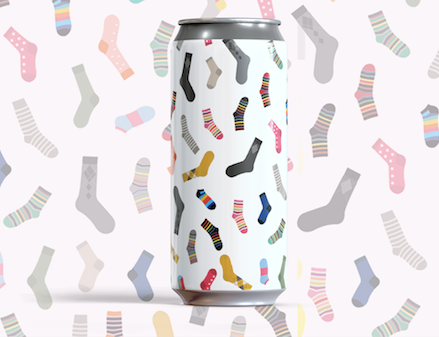 Party Socks Hazy Pale DDH w/ Cashmere & Simcoe 4Pack