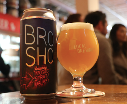 BroSho TDH Hazy Double IPA 4Pack