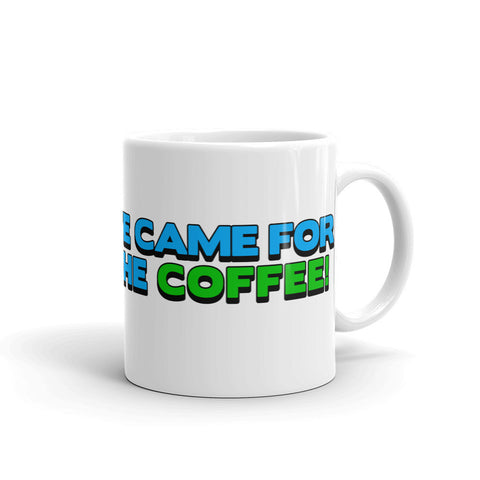 Alien Coffee Abduction Mug