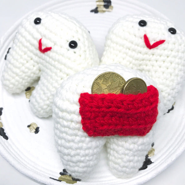 Tooth Fairy Softie - Handmade Crochet Amigurumi