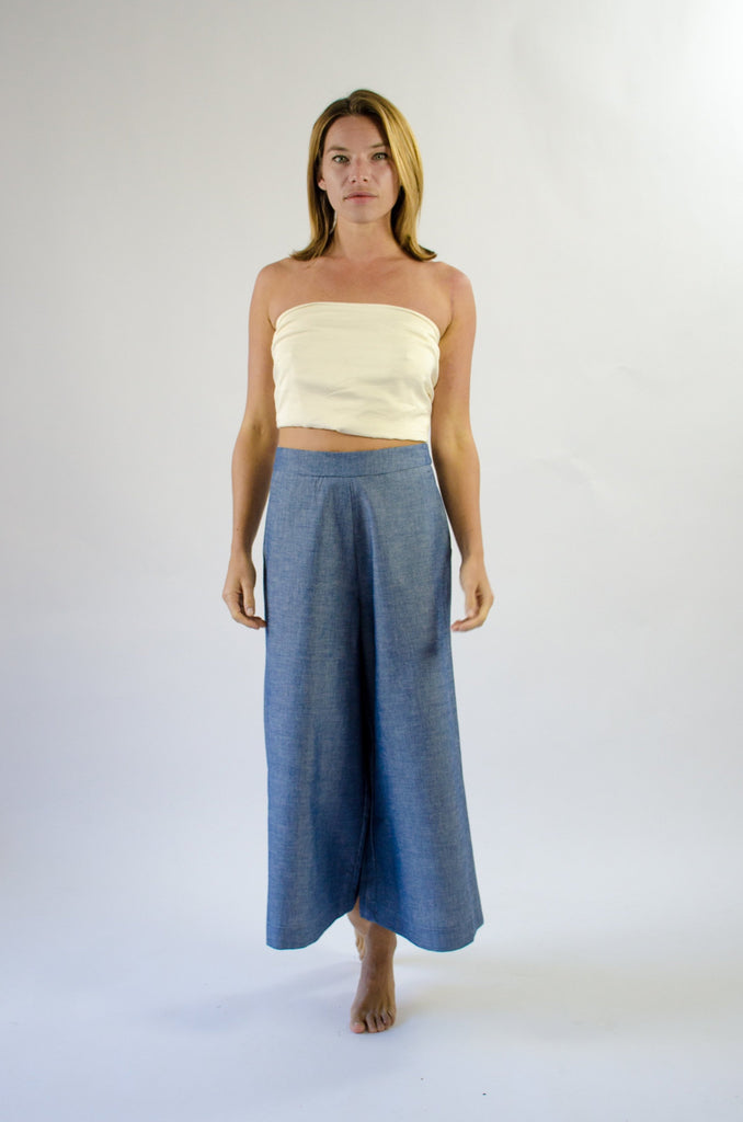Romy Culotte - Cotton Chambray