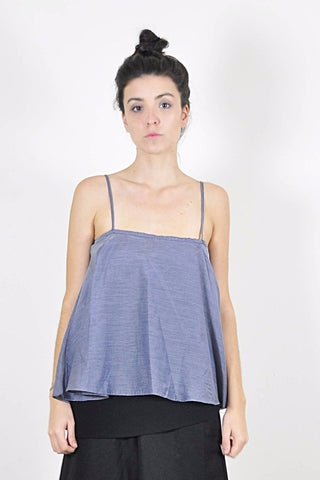 Kit Flirty Top - Grey - scout, the label