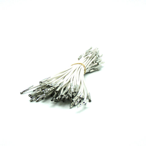 Barbed Elastic Heavy Weight White Cord