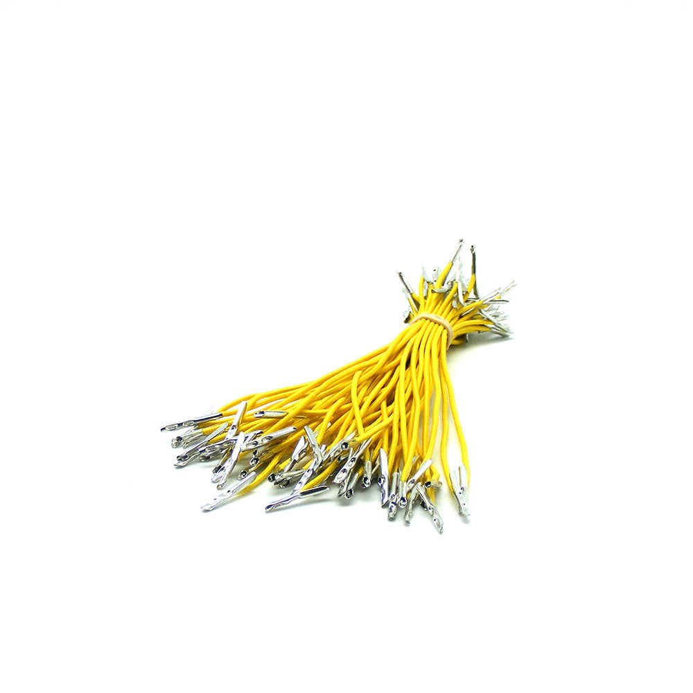 Barbed Elastic Medium Weight Yellow Cord