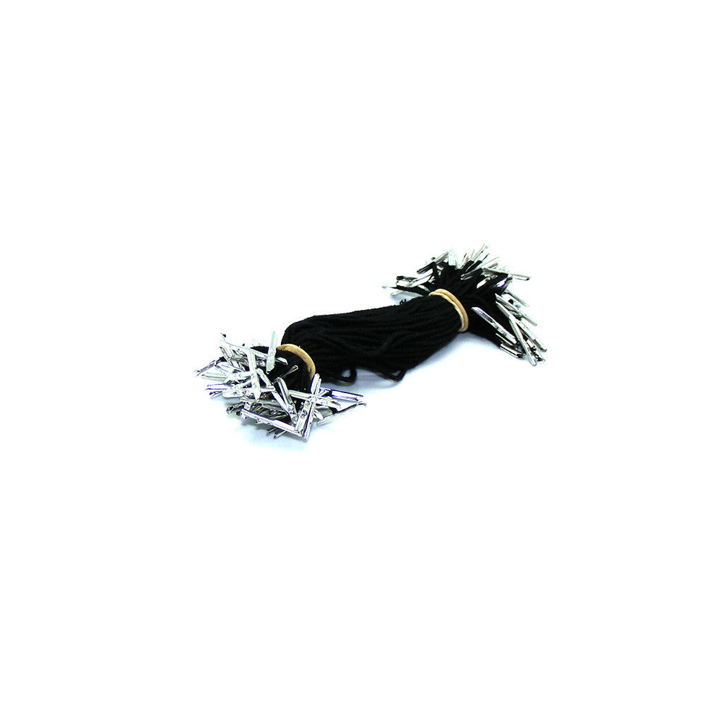Barbed Elastic Lightweight Black