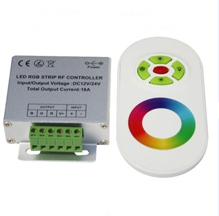 LED Lights Strip Module RGB Remote RF Controller 18A 3 Outputs DC12-24V