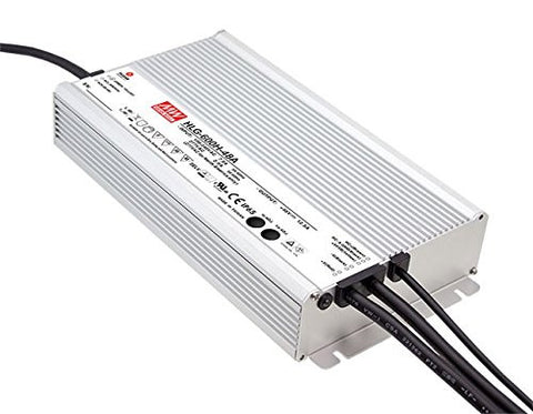 Meanwell Waterproof 600W LED Power Supply Low Voltage