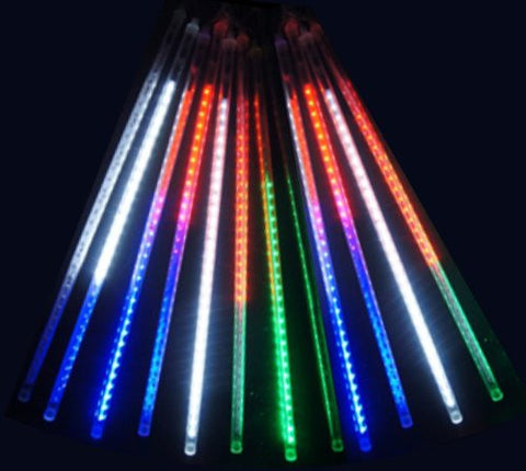 20 Inches Linkable Snow White Led Snowfall Lights Double