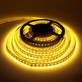LEDJump High Power 45 Watts 2500k-2700k Strip Non-Waterproof 5M/16 ft Reel Flexible LED Ribbon 300 LEDs Warm White With 3M Tape, 12 Volt,Linkable & Cuttable