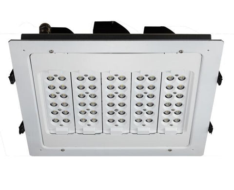 LED Canopy Flood Lights Fixture CPA Series CREE SMD 100W