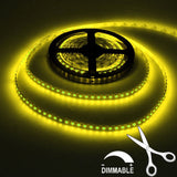 LED Flexible Strip Light 16FT/5M 300LEDs SMD5050 Cuttable Linkable
