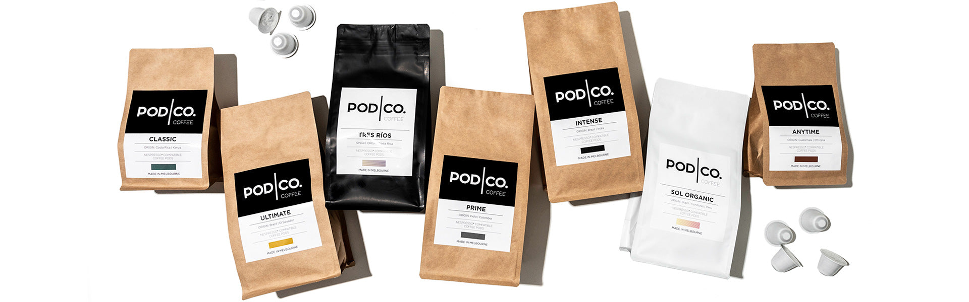 Melbourne Made Biodegradable And Compostable Nespresso Compatible Pods