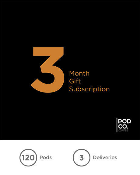 Three month gift subscription