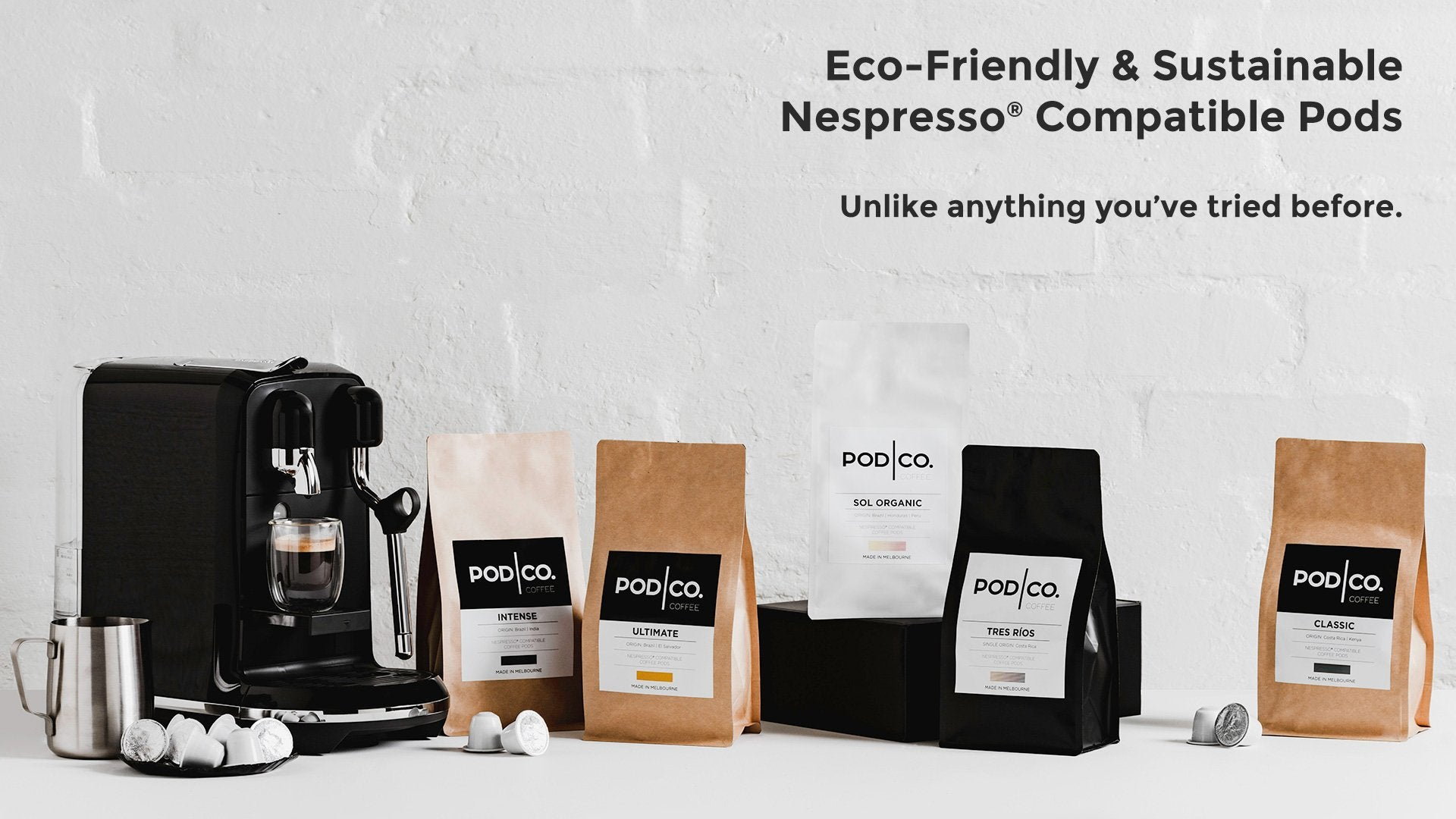 POD CO. COFFEE | Nespresso Compatible Pods
