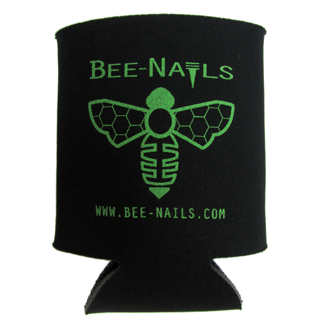 Bee-Nails Koozie