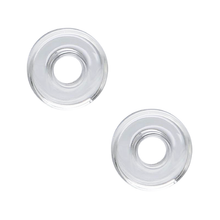 Trinity Nail Dishes - Quartz or Ceramic - 2 Pack - Bee-Nails