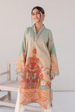 Digital Printed Kurti With Embroidery