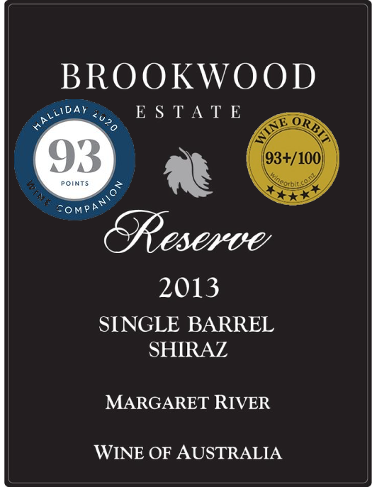 Singapore 2013 Single Barrel Shiraz