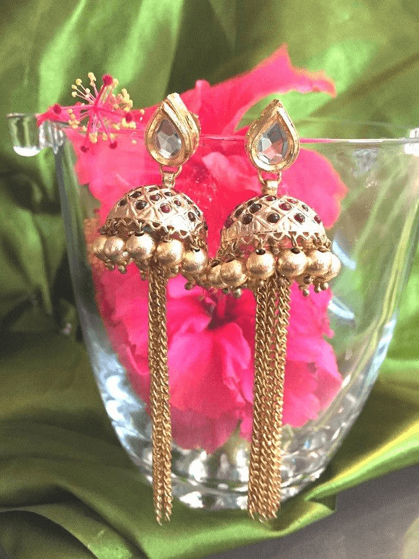 All That Glitters Jewelry Dangler Jhumkis