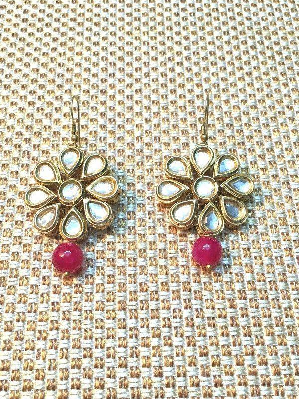 All That Glitters Jewelry The Mughal Flower