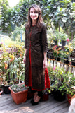 anokherang Combos The Shining Star Long Khadi Jacket with Kurti and Straight Pants