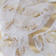 White Floral Embroidered Organza Dupatta