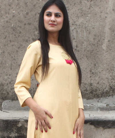 Autumn Grace Straight Kurti