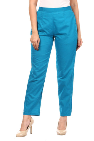 Light Rama Green Straight Pants