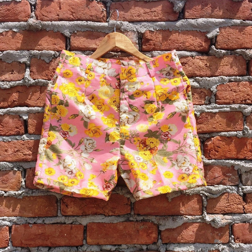 anokherang Shorts Candy Floss Shorts
