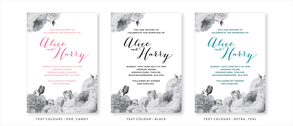 Dimitria Jordan Anthi : Marble wedding stationery variations