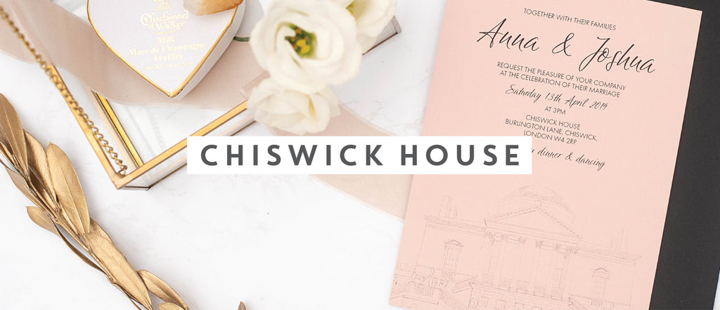 Chiswick House wedding stationery collection