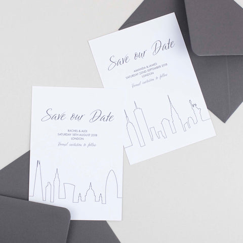 Save our Date Skylar Collection