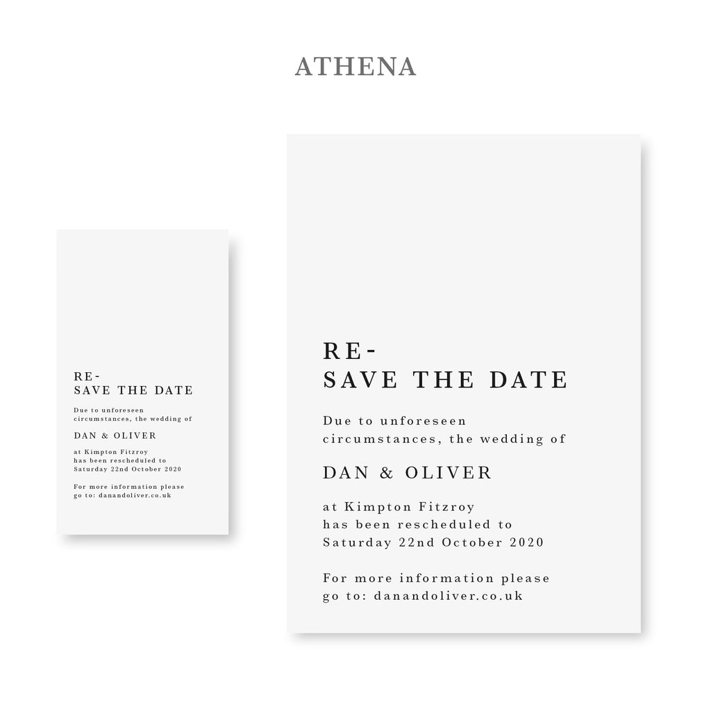 Digital Wedding Announcements