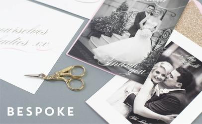 Dimitria Jordan | bespoke wedding stationery