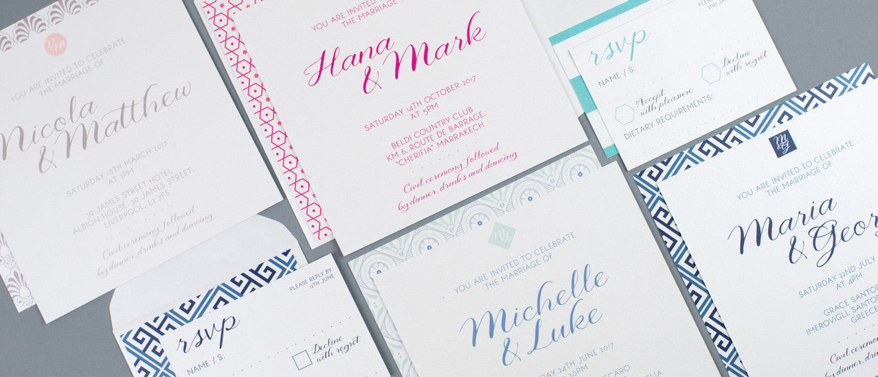 Dimitria Jordan | Wedding Stationery Press