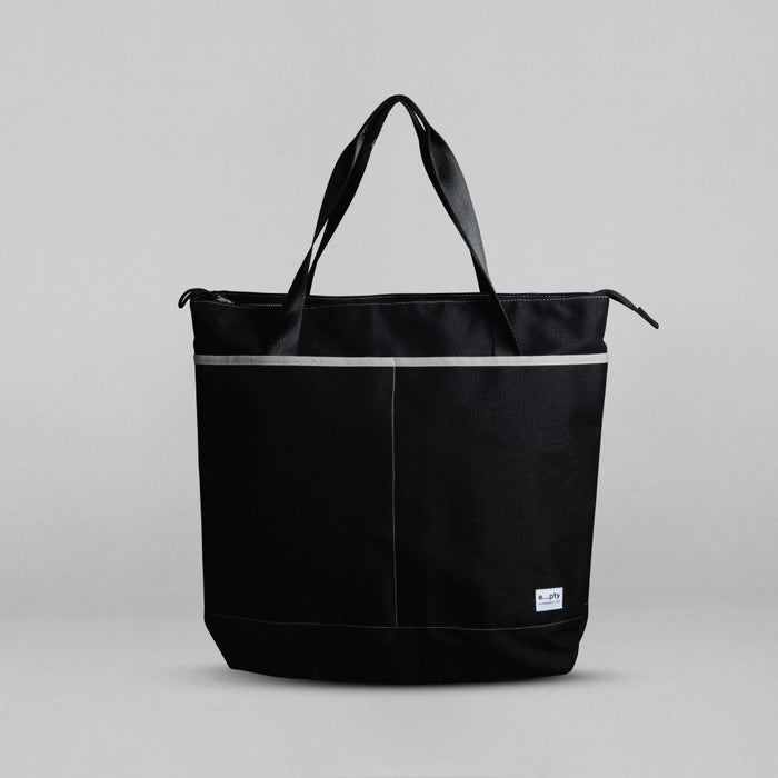Commuter Tote - Black Front