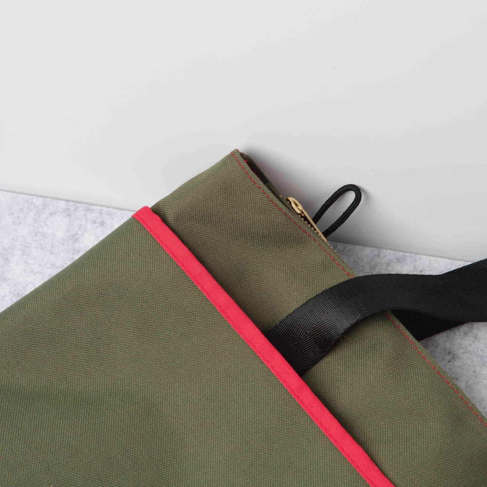Commuter Tote - Green Flat
