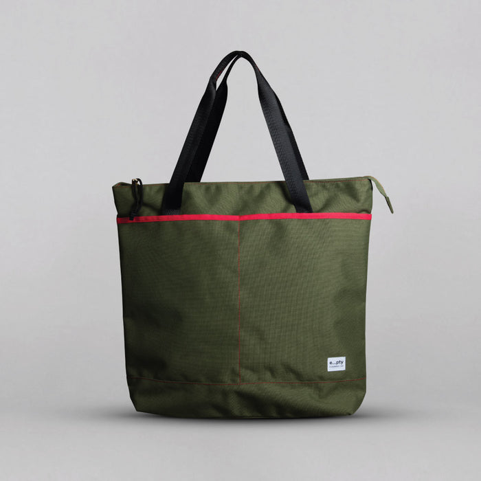Commuter Tote - Green Front