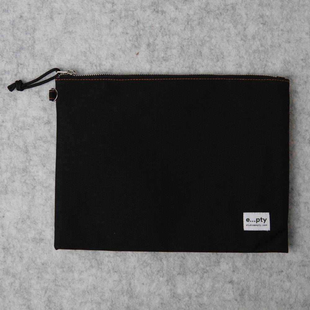 Effects Pouch L - Black Flat