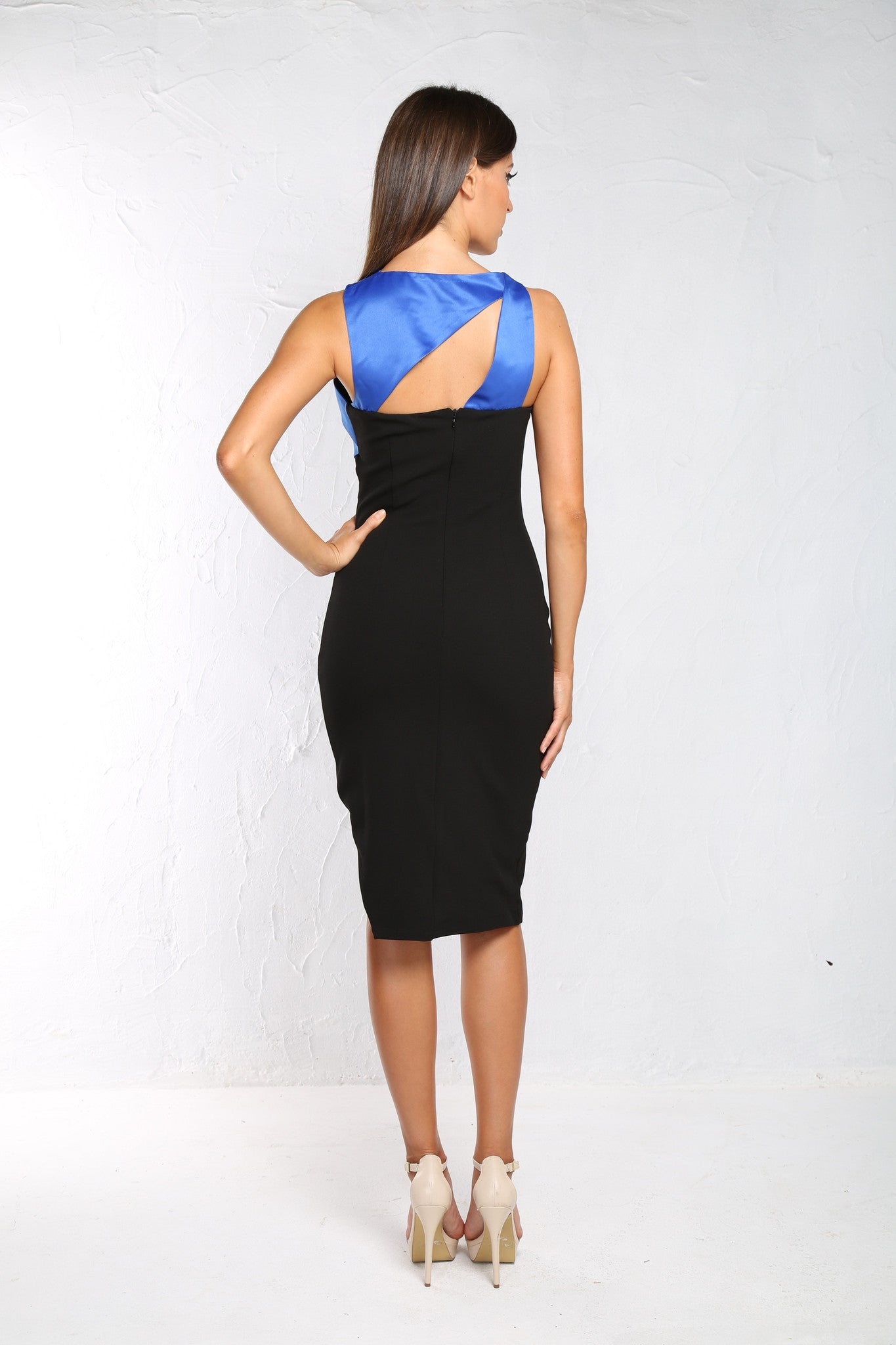 Venus Black/blue Dress