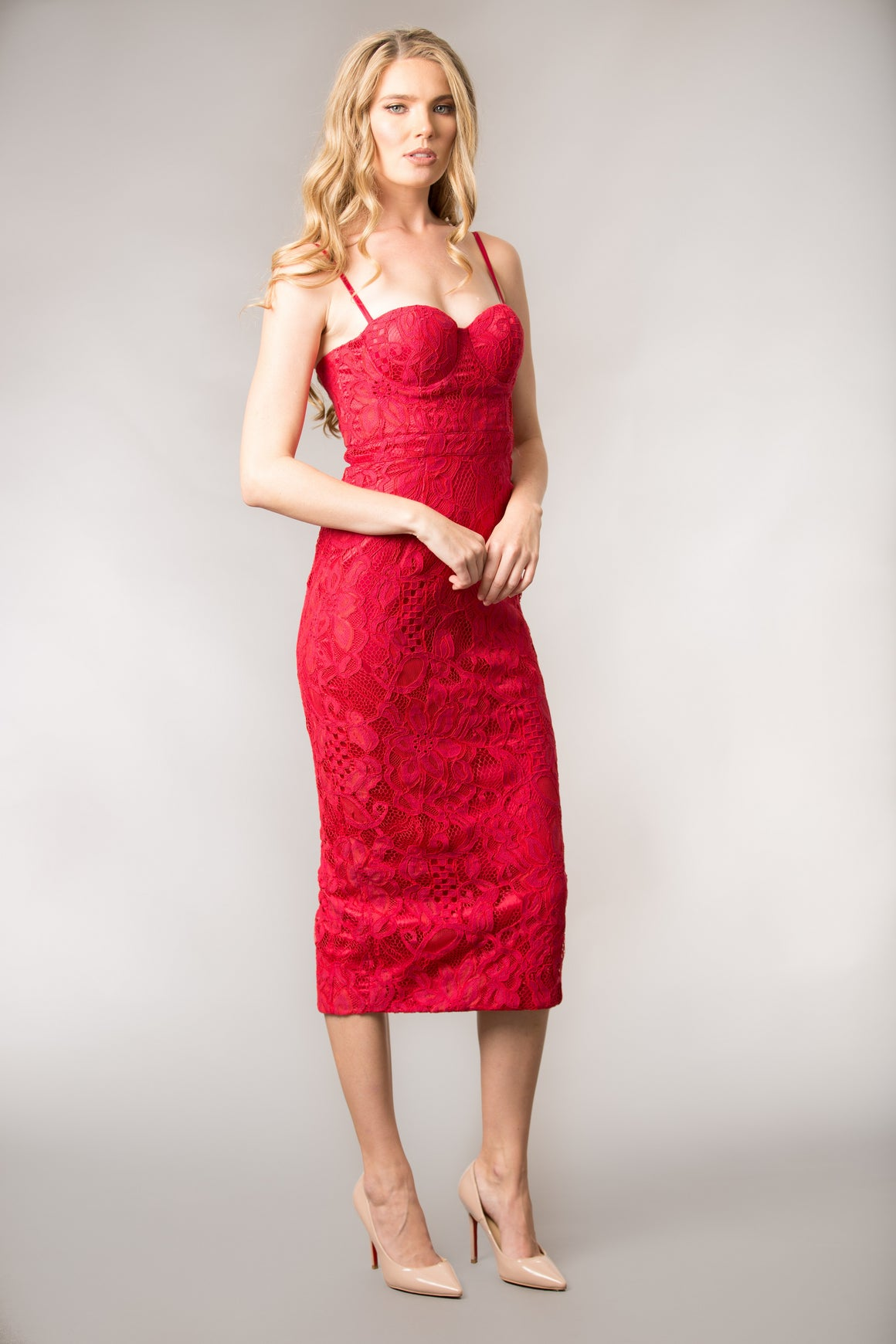 Dolce Red Dress