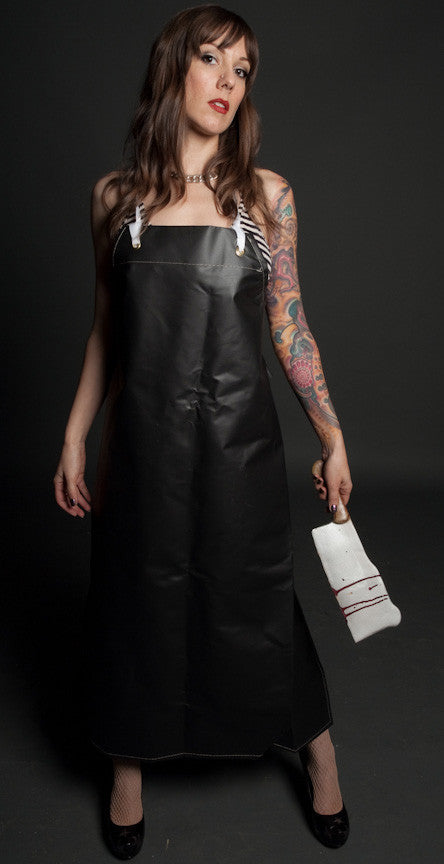 Butcher Apron - Ankle Length Rubberized Canvas