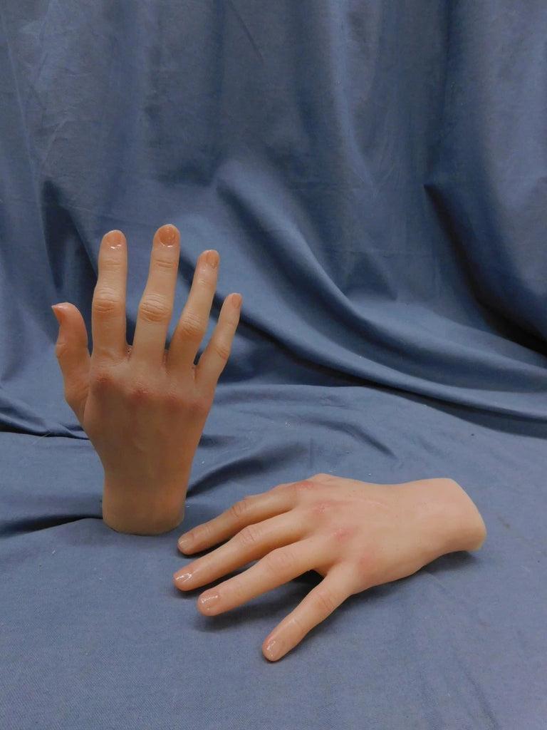 Poseable Silicone Slender Hands