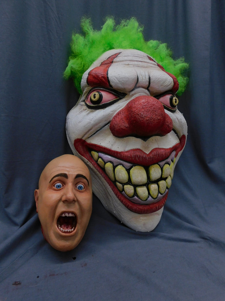 Giant Evil Clown Face