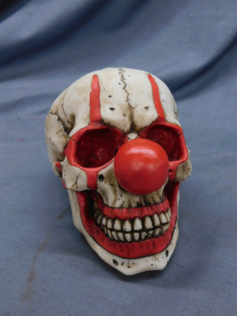 Clown Skull Decor