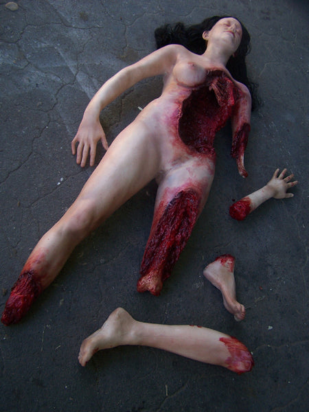 Deluxe Wounded Jessica Body with Parts