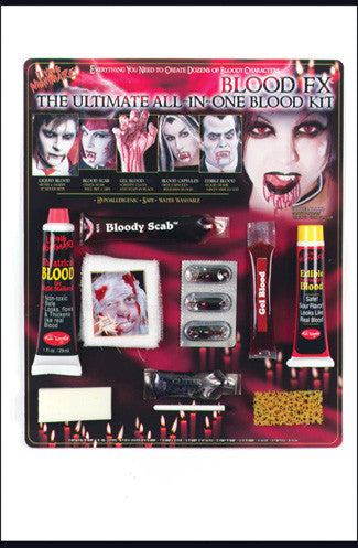 Ultimate Blood FX Make Up Kit
