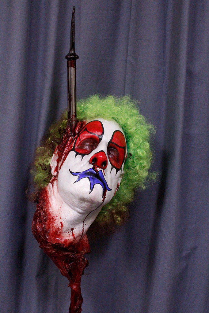 Clown Head Gary On Spike