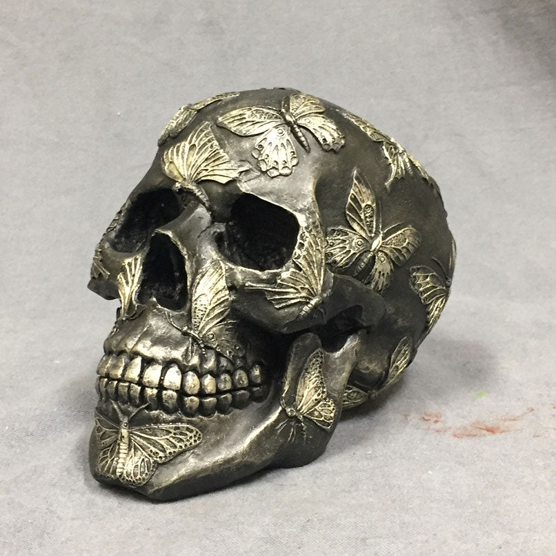 Butterfly Decorative Skull